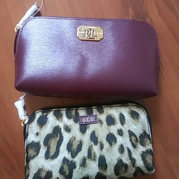 a860d9166d34 Lauren Ralph Lauren Handbags - Lauren Ralph Lauren makeup bag set